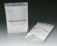 Triple Layer Reclosable Bubble Poly Bags