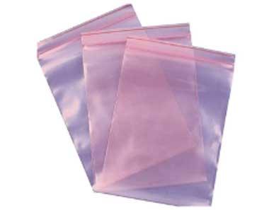 Pink Anti-Static Zipper Bags