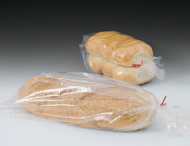 Linear Low Density Polyethylene Bread Bags with Side Gusset