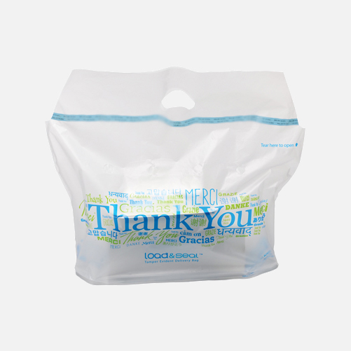 Load & Seal Tamper-Evident Food Delivery Bag
