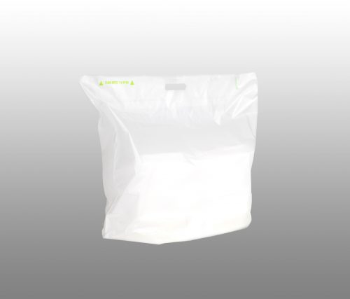 Fast Take Tamper Evident Delivery Carryout Bag - Plain